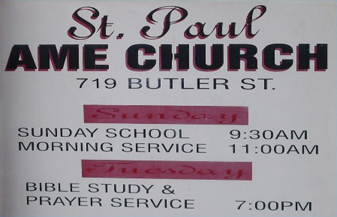 St Paul Ame Church