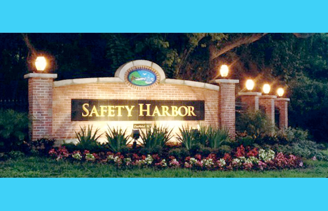 Safety Harbor Sign